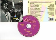 "ARTHUR ALEXANDER ""The Monument Years"" (CD) 2001"
