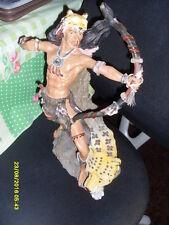 personnage en resine indien 41 cm de haut