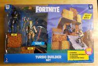 Fortnite Turbo Builder Set 2 Figure Pack, Jonesy & Raven. New 89 piece set.