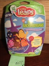 Bnip~Leap Frog Baby~Little Leaps W/The Backyardigans From Nick Jr~Learning Disc!