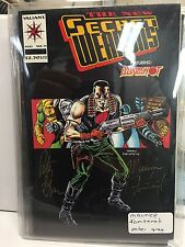 secret weapons bloodshot #11 signed maurice fontenot peter gray vialiant certife