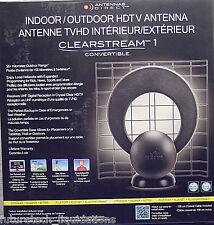 ANTENNAS DIRECT CLEARSTREAM 1 CONVERTIBLE INDOOR/OUTDOOR HDTV ANTENNA - C1C-CN
