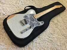 2017 Fender Road Worn Series Brad Paisley Signature Telecaster in Silver Sparkle