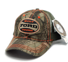 HAT - Ford Built Tough Realtree Mess Vented Trucker Style Ball Cap FREE SHIPPING