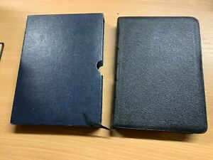 VINTAGE OXFORD REFERENCE HOLY BIBLE KING JAMES VERSION LEATHER BOOK (P4) ref018