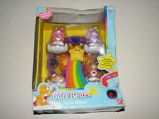 Care Bears Turning Light Up Musical Ferris Wheel w 3 Figures New MIB 2003