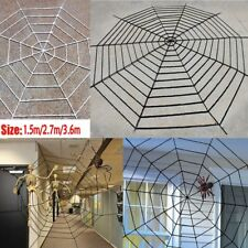 Giant Spider Web Indoor Outdoor Spooky Haunted House Halloween Party Decoration