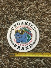 "Croakies Sticker Decal Island Face Sunglasses Approx 4"" Eyewear Retainer Water"