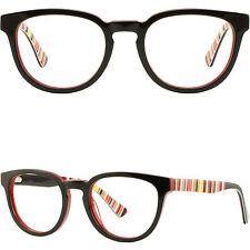 447f351266 Thick Acetate Women s Frames Prescription Glasses Eyeglasses Spring Hinges  Black