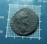 Rare! Antique ROMAN Coin BRONZE Septimius Severus  AD 193-211 # 0287