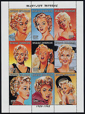 Central Africa 1178 MNH Marilyn Monroe