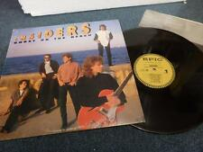 THE INSIDERS - GHOST ON THE BEACH , EPIC 1987 , VG+/EX ,LP