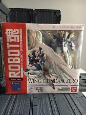 Bandai Robot Spirits Gundam Wing Zero Custom Action Figure MSIA Lot