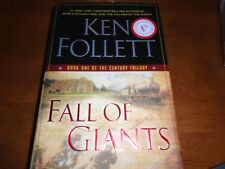 The Century Trilogy: Fall of Giants Bk. 1 Sign by Ken Follett 2010, HC 1st/1st