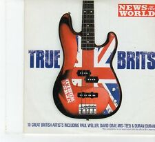 (FP1000) News Of The World, True Brits, 10 tracks various artists - 2004 CD