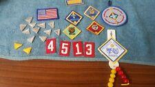 VTG 80s WEBELOS/CUB/BOY SCOUT LOT patches, badges, insigna