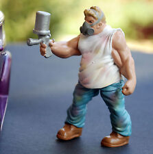 23997 American Diorama musclemen OFFICINA MECCANICO CUSTOM Vango, 1:24