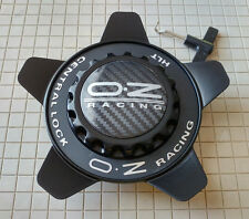 OZ Racing Center Cap M671 Oz Formula Cover black w black ring PCM671-231