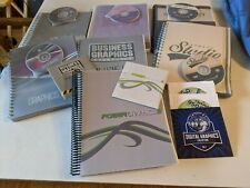 Graphic Design Software Plus Manuals Illustrator Sports Business Cartoon & More