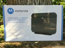 Motorola MD1600 Modem/Router, Brand New! STILL SHRINK WRAPPED IN BOX! UNOPENED!
