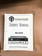 Kenwood KR-4130 Receiver Service Manual *Original*
