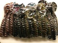 NEW DOC WATERS SINGLE TAIL GRUB PREMIUM SOFT PLASTIC BAIT LURES BASS BULK 4 MULT