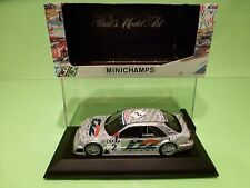 MINICHAMPS  MERCEDES BENZ C180  DTM 1995 1996 No 2 - FRANCHITTI - 1:43 NMIB