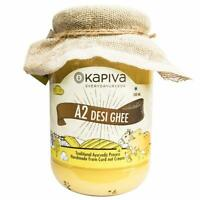 Kapiva A2 Shudh Desi Ghee Reduces Joint Pain & Improves Heart Functioning 500 Ml