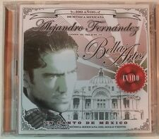 UN CANTO DE MEXICO: EN VIVO by ALEJANDRO FERNANDEZ (2 CDs, 2002-Sony) Very Good!