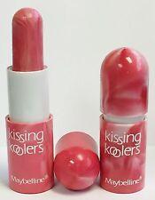 Lot of 2 Maybelline Kissing Koolers - Peppermint Twist - 90s