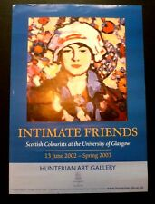 Intimate friends - Scottish colourists  2002 GROUP ART EXHIBITION POSTER