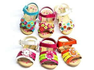 New Baby Toddler Girls Sandals Spring Summer Shoes 6 colors Sz 2-9