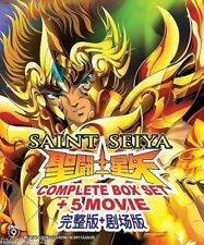 DVD Saint Seiya ( Vol. 1-172 End ) Complete TV Series + 5 Movies + Free Shipping