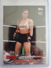 Ronda Rousey Rookie Card RC #101 2018 Topps WWE Then Now Forever