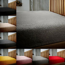 Teddy Bear Fleece Fitted Sheet Bed Luxury Soft Cuddly Sherpa Bedding 25 CM Deep