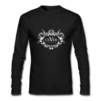 New ULVER Band Long Sleeve Black T-Shirt Size XS-2XL