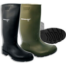 MENS DUNLOP WELLINGTONS BOOTS WELLIES RUBBER SHOES SIZE 3-12UK SNOW LADIES BOYS