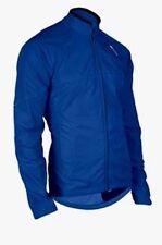 SUGOI RPM Thermal Jacket Mens Large Blue Repels Wind Water Run Ski Bike