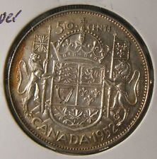 1952~~CANADIAN 50 CENTS~~SILVER~~SCARCE~~CANADA~~AU BEAUTY