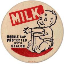 Vintage Retro Baby Milk Dairy Advertising Metal Sign Unique Wall Decor RPC087