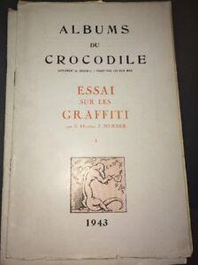 GRAFFITIS (ESSAI SUR LES). 1943.