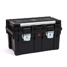 Werkzeugkoffer, Werkzeugkiste mit Aluminiummesslatte, Alu Griff Koffer