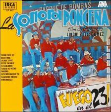 FANIA Salsa RARE CD REMASTERED Limited Edition SONORA PONCEÑA Fuego en el 23
