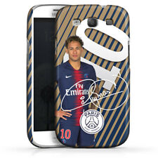 Samsung Galaxy S3 Premium Case Cover - Neymar JR - Gold