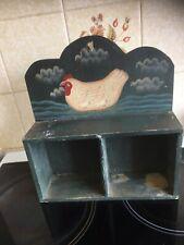 Small Retro / Retro Style Wooden Shelf