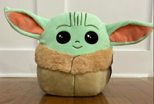 NEW The Child Squishmallows Baby Yoda Mandalorian Rare 10in Plush Star Wars