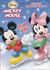 New Mickey Mouse Christmas Coloring Book ~ Snow Fun!