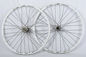 "Alex Rims FR30 26"" Alloy Mountain Disc Double Wall Wheelset 6-Bolt Disc 32h"