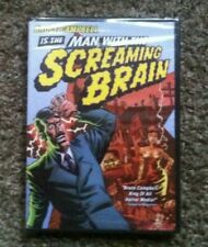 Man With The Screaming Brain NEW DVD Bruce Campbell ANCHOR BAY HORROR COMEDY OOP