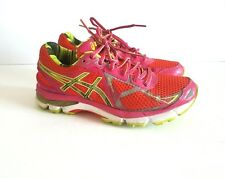 ASICS Womens GT Fluidride Dynamic Duomax Pink Running Shoes Sz 6 T594N